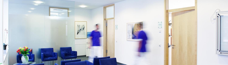 Gemeinschaftspraxis Dr. Brandt & Dr. Kochhan - Wartezimmer